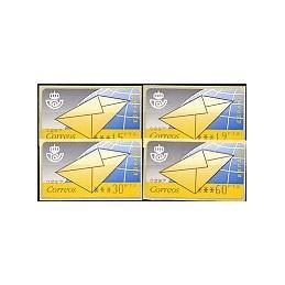 ESPAÑA. 9.1. Carta. PTS-5A. Serie 4 val. (1995)