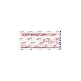 MÉXICO (1994). Frama. Emblema postal (6). ATM nuevo