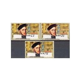 ESPAÑA. 28. Felipe II. PTS-5A. Serie 3 val. (1)