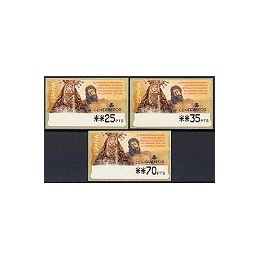 ESPAÑA. 46. III C. Herm. Dolores Cristo. PTS-4 Mobba. Serie 3 v.