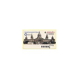 ESPAÑA. 53. ICOM 2001. Barcelona. PTS-6E. ATM nuevo (1 PTS)