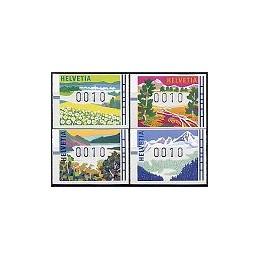 SUIZA (1996). Estaciones del año. ATMs nuevos (10)