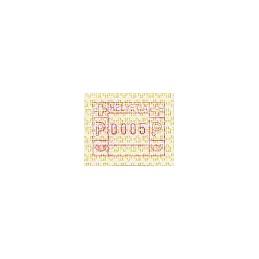 SUIZA (1990). Emblema postal. ATM nuevo