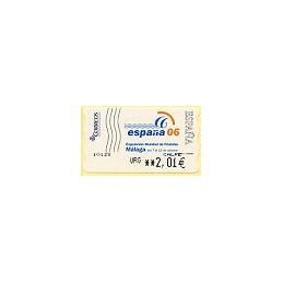 ESPAÑA (2006). 130. España 06 - Málaga. LF-5E. ATM nuevo (U 2,01