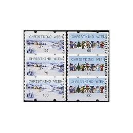 AUSTRIA (2006). CHRISTKIND WIEN (Invierno). Series 3 val.