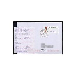 PORTUGAL (2006). SIDA - Amiel. Sobre circulado