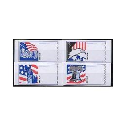 EEUU (2006). 12. Motivos patrióticos. Etiquetas en blanco
