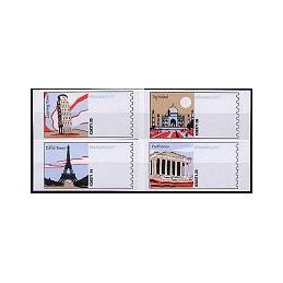 EEUU (2006). 13. World landmarks (2). Etiquetas en blanco