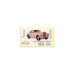 ESPAÑA. 113. Rolls Royce 1947. 6E. Etiqueta ajuste (2)