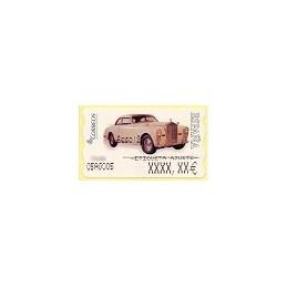 ESPAÑA. 113. Rolls Royce 1947. 6E. Etiqueta ajuste (3)