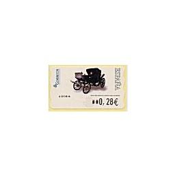 ESPAÑA. 116. Milord 1900. LF-5E. ATM nuevo (0,28)