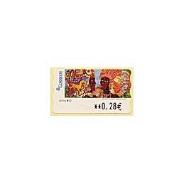 ESPAÑA. LF 10180. 118. Meléndez: Africanas II. ATM nuevo (0,28)