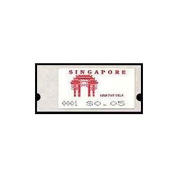 SINGAPUR (1991). Haw Par Villa. ATMs nuevos (x 49)
