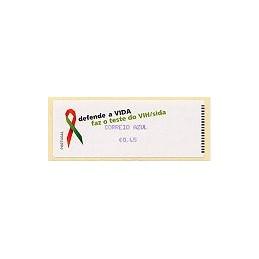 PORTUGAL (06). SIDA. C. AZUL - Crouzet/azul. ATM nuevo