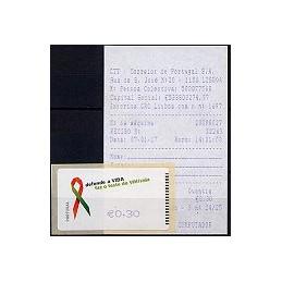 PORTUGAL (2006). SIDA - SMD. ATM nuevo + rec.