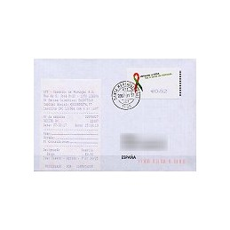 PORTUGAL (2006). SIDA - SMD. Sobre circulado + rec. (07)