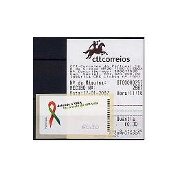 PORTUGAL (2006). SIDA - NewVision. ATM nuevo + rec.