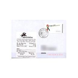 PORTUGAL (2006). SIDA - NewVision. Sobre con ATM + rec.