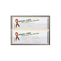 PORTUGAL (06). SIDA. C. AZUL. Crouzet/negro. ATM + rec.