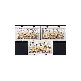 ISRAEL (1994). Turismo - Akko - 023. Serie 3 val. (x0,90)