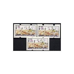 ISRAEL (1994). Turismo - Akko - 028. Serie 3 val. (x0,85)