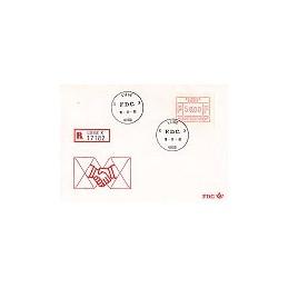BÉLGICA (1981). Emisión básica Frama. 6 SPDs, certificado