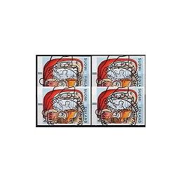 FINLANDIA (1997). Santa Claus (1). Serie 4 val., mat.
