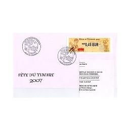 FRANCE (2007). Fête timbre - LISA 2. SPD + rec. (2)