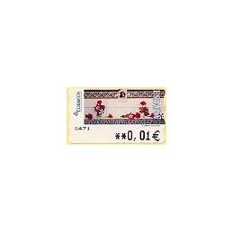 ESPAÑA. 115. J. Carrero. Tarjeta postal. 5A. ATM nuevo (0,01)