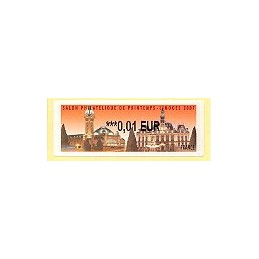 FRANCIA (2007). Salon Printemps Limoges. ATM nuevo (0,01)