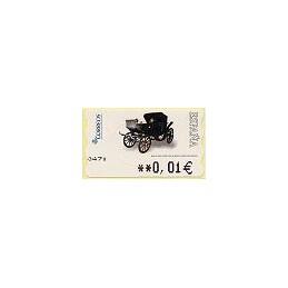 ESPAÑA. 116. Milord 1900. 5A. ATM nuevo (0,01)