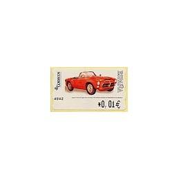 ESPAÑA. 110. Pegaso Z-102 SS P. 4E. ATM nuevo (0,01)