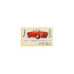ESPAÑA. 110. Pegaso Z-102 SS P. 6E. ATM nuevo (0,01)