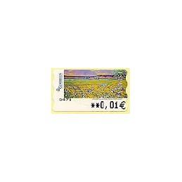 ESPAÑA. 124. Montilla: Flores silvestres. 5A. ATM nuevo (0,01)