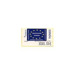 ESPAÑA. 114. Constitución Europea. 6E. Etiqueta ajuste (1)-prot.