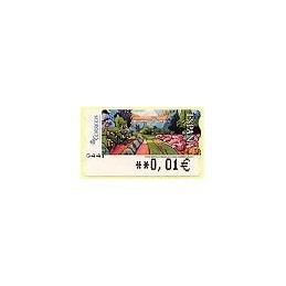 ESPAÑA. 125. Montilla: Mañana en el jardín. 5A. ATM nuevo (0,01)