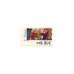 ESPAÑA. 126. Igor Fomin: s/t. 5A. ATM nuevo (0,01)