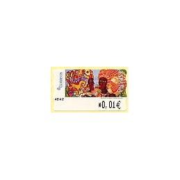 ESPAÑA. 118. Meléndez: Africanas II. 4E. ATM nuevo (0,01)
