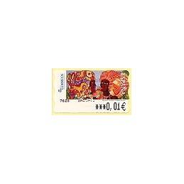 ESPAÑA. 118. Meléndez: Africanas II. 6E. ATM nuevo (0,01)