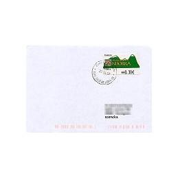 ANDORRA. Montañas verdes- 2. EUR-5E-1274. Sobre (2007)