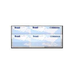 BRASIL (2004). Paloma blanca (2). Serie 4 valores (2007)