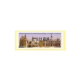 FRANCE (2007). 80 Congres FFAP - Poitiers. ATM nuevo (0,01)