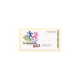 PORTUGAL (2007). Crianças - NewVision Azul. ATM nuevo