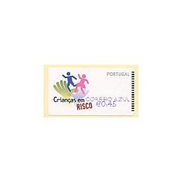 PORTUGAL (2007). Crianças. CA - NewVision Azul. ATM nuevo