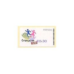 PORTUGAL (2007). Crianças - SMD Azul. ATM nuevo