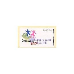 PORTUGAL (2007). Crianças. CA - SMD Azul. ATM nuevo