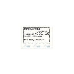 SINGAPUR (2007). Singapore Post - SFS. Sello nuevo