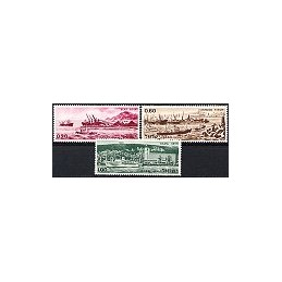 ISRAEL. (1968). Sellos Ashdod. Serie 3 sellos