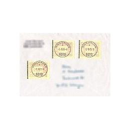 AUSTRIA (1983). Emblema postal. Colección 15 sobres