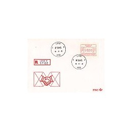 BÉLGICA (1981). Emisión básica Frama - P3005. SPD, certificado